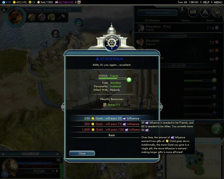 Онлайн версия игровой энциклопедии Civilization V на русском языке. Страни