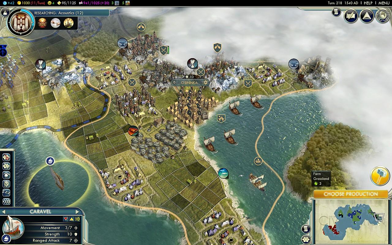 Civilization 5 Лидеры