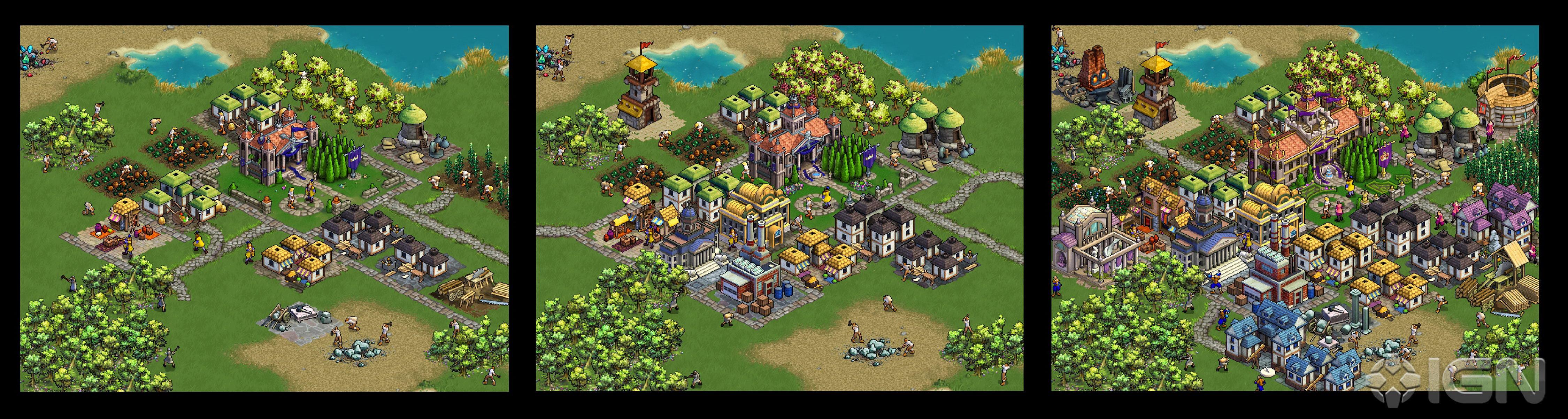Развитие города по эпохам